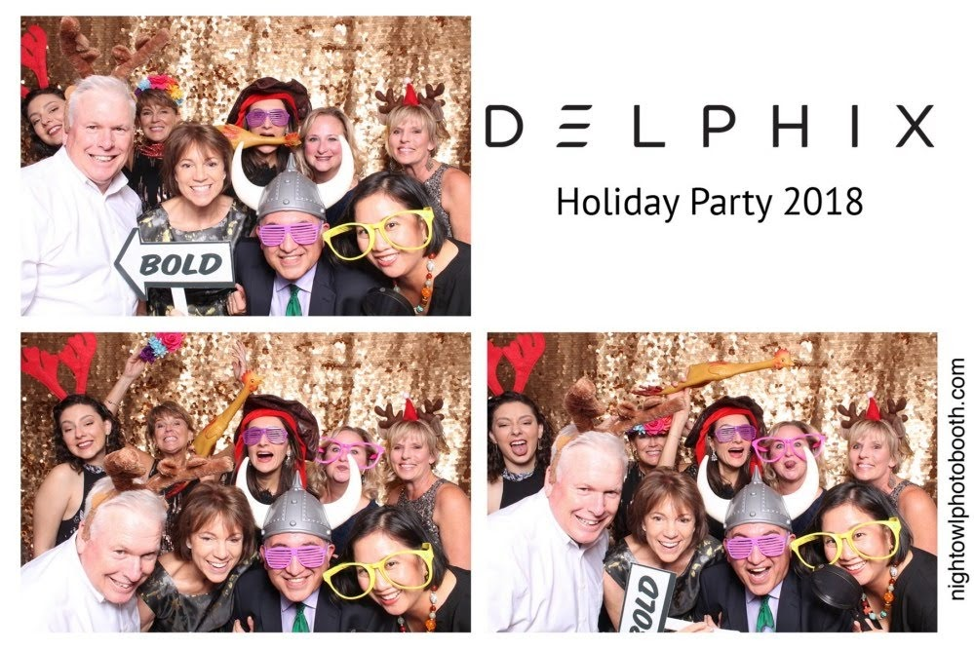 delphix holiday party 2018