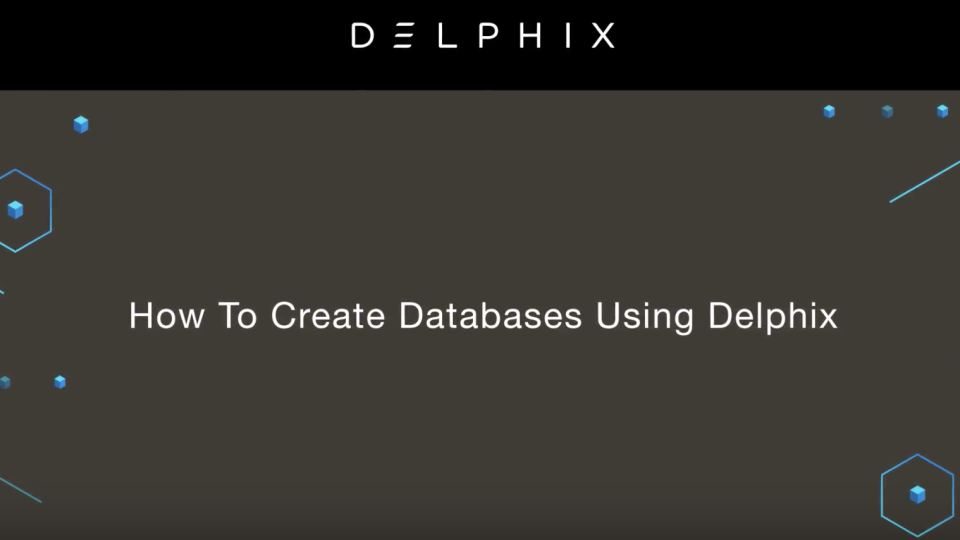 how to create databases